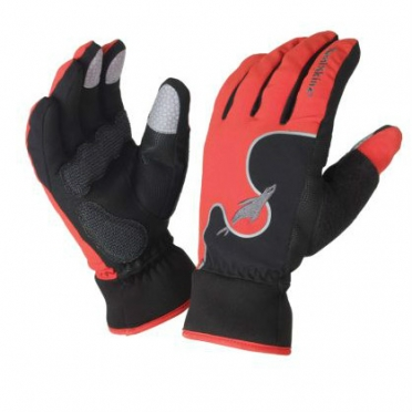 SealSkinz Fietshandschoenen Performance Road Cycle Glove rood
