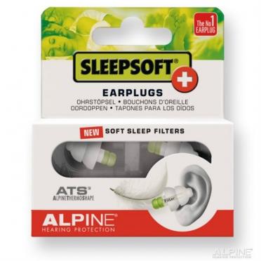 Alpine SleepSoft+ oordoppen