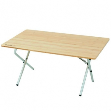 Snow Peak Single Action low table bamboo (LV-100T)