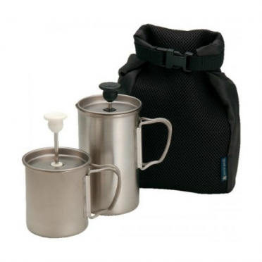Snow Peak Titanium Cafe Latte set 3 cups (CS-110)