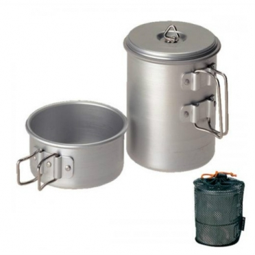 Snow Peak mini solo cook set aluminium (SCS-004)