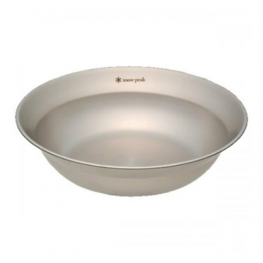 Snow Peak tableware bowl L (TW-031)