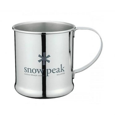 Snow peak stainless steel mug 300 ml (E-010)