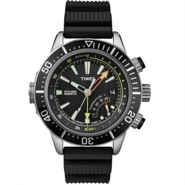 Timex outdoorhorloge IQ Depth zwart T2N810