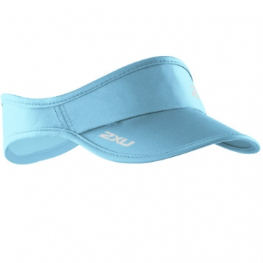 2XU Run Visor zonneklep 2014 UA1150f Light blue