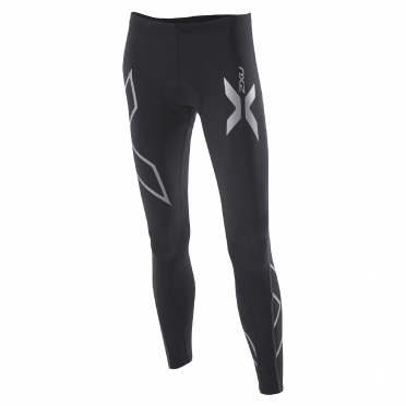 2XU women's Compression Cycle Tights zwart (WC2030b)