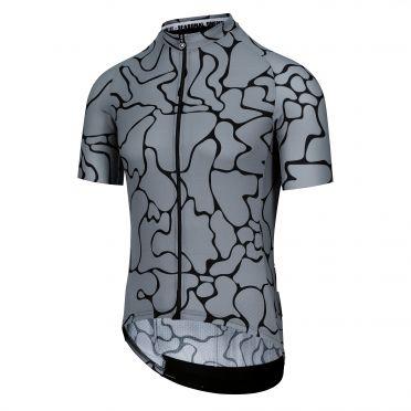 Assos Mille GT summer C2 voganski fietsshirt SS grijs heren