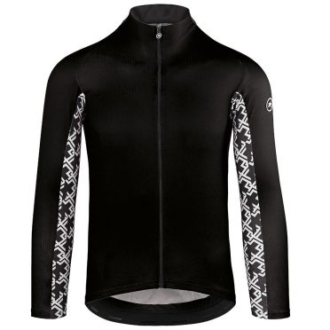 Assos Mille GT summer lange mouw fietsshirt zwart heren