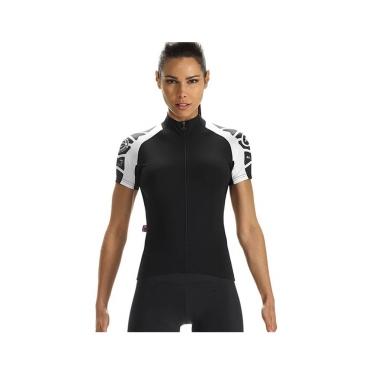 Assos SS.laalalai Evo7 fietsshirt korte mouwen zwart dames