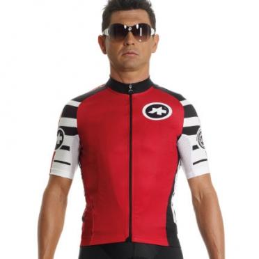 Assos SS.mangussta_s7 fietsshirt rood unisex