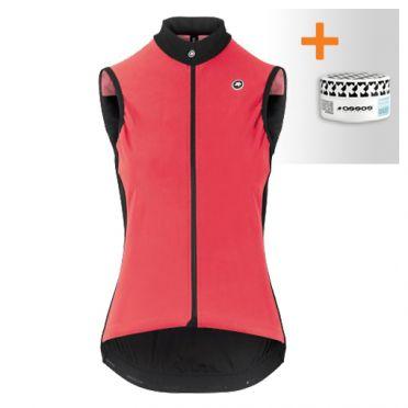 Assos Uma GT Spring fall Airblock vest roze dames