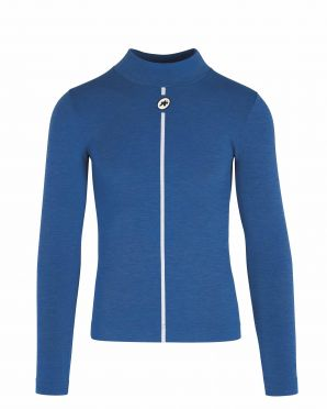 Assos Skin Layer Winter LS ondershirt blauw heren