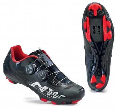 Northwave Blaze plus MTB mountainbikeschoen zwart/wit/rood heren Weekendactie