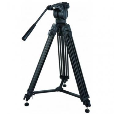 Braun Professioneel Video Statief PVT175 + Vloeistofgedempte kop