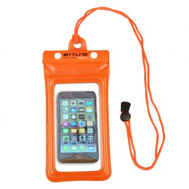 BTTLNS Endymion 1.0 drijvende waterdichte telefoonhoes oranje