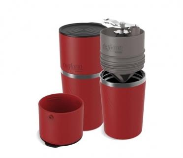 Cafflano Koffiemaker klassic rood