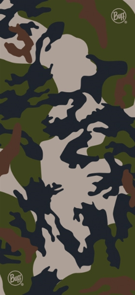 BUFF Original buff woodland BDU