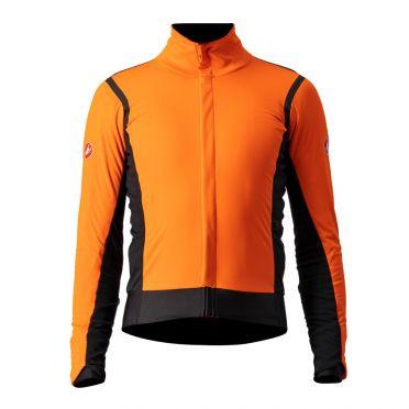 Castelli Alpha RoS 2 fietsjack oranje heren
