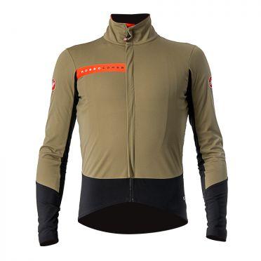 Castelli Beta RoS fietsjack groen heren