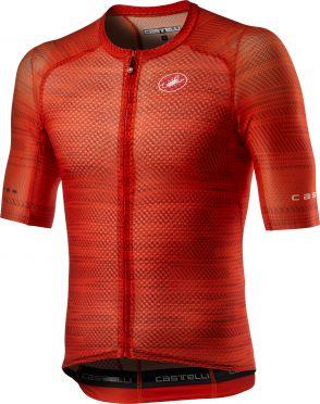 Castelli Climber's 3.0 SL korte mouw fietsshirt rood heren
