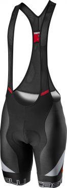 Castelli Competizione kit bibshort zwart/grijs/rood heren