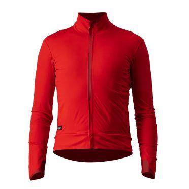 Castelli Elita RoS fietsjack rood heren