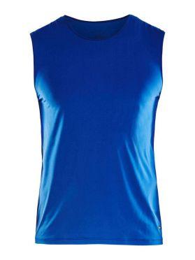 Craft Essential Singlet SL shirt blauw heren