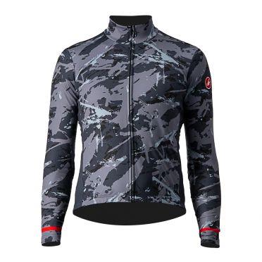 Castelli Unlimited Thermal SS fietsshirt grijs/blauw heren