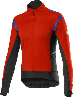 Castelli Alpha RoS 2 light fietsjack rood heren