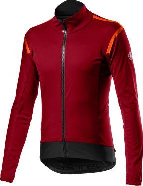 Castelli Alpha RoS 2 light fietsjack donker rood heren