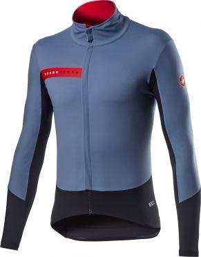 Castelli Beta RoS fietsjack blauw heren