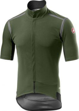 Castelli Gabba RoS fietsshirt korte mouw groen heren