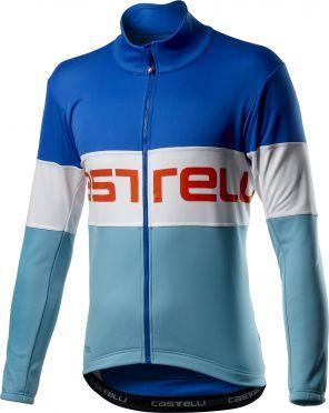 Castelli Prologo fietsjack blauw heren