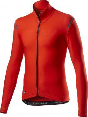 Castelli tutto nano RoS fietsshirt lange mouw rood heren