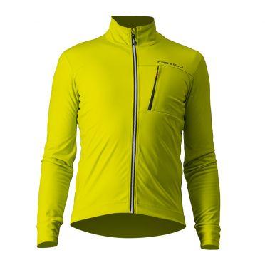 Castelli GO fietsjack geel heren