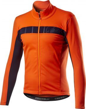 Castelli Motrirolo VI fietsjack oranje heren