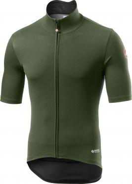 Castelli Perfetto RoS Light fietsshirt korte mouw groen heren