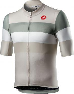 Castelli LaMITICA korte mouw fietsshirt grijs heren
