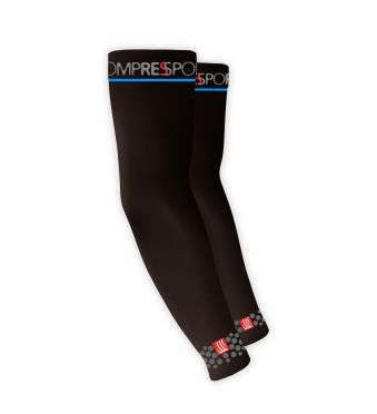 Compressport Armforce compressiemouwen zwart