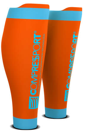 Compressport R2 v2 compressie tubes oranje