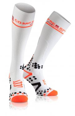 Compressport Fullsocks v2.1 compressiesokken wit