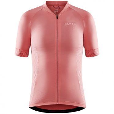 Craft Advanced Endurance fietsshirt SS roze dames