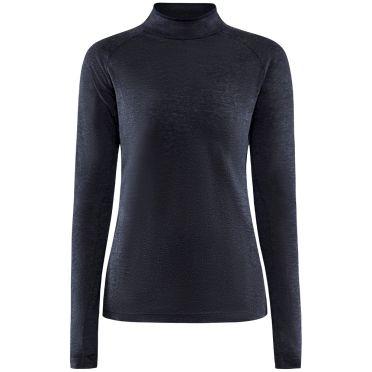 Craft Advanced Subz Wool 2 lange mouw hardloopshirt dames blauw