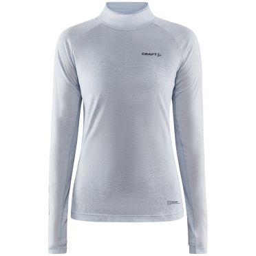 Craft Advanced Subz Wool 2 lange mouw hardloopshirt dames wit