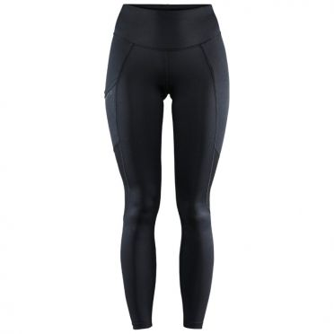 Craft Advanced Essence warm tight hardloopbroek zwart dames