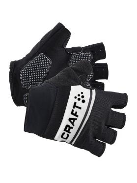 Craft Classic fietshandschoenen zwart/wit heren
