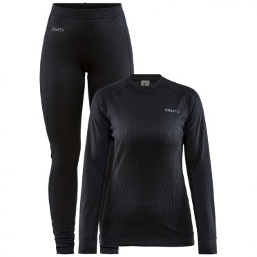 Craft Core Dry thermo onderkleding set zwart dames