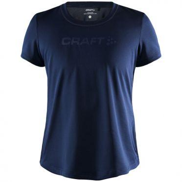 Craft Essence mesh hardloopshirt SS donkerblauw dames