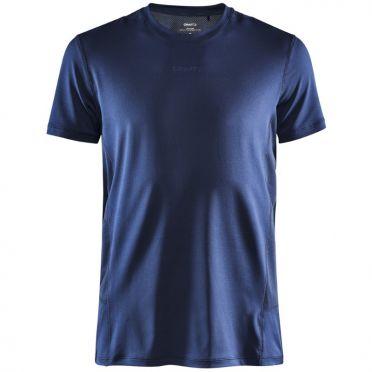 Craft Essence slim hardloopshirt SS donkerblauw heren