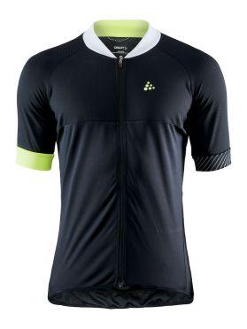 Craft Adopt fietsshirt zwart/geel heren